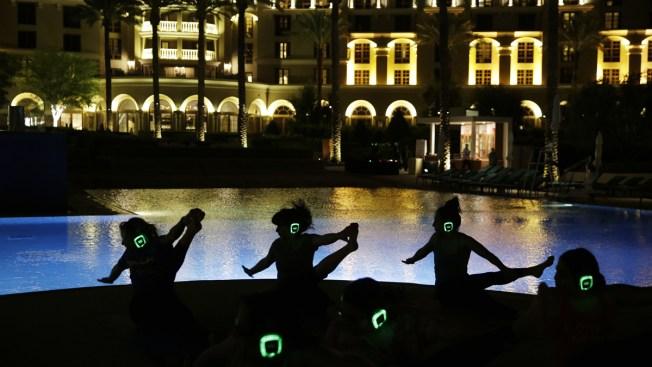 What Namastes in Vegas: Yoga Making Inroads in Gambling Mecca