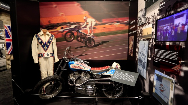 Museum Honoring Daredevil Evel Knievel Opens in Kansas