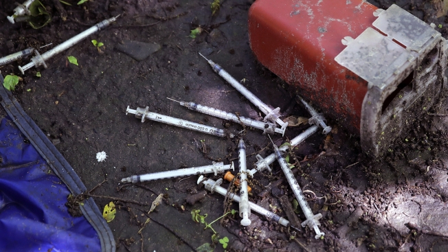 'It's Raining Needles': Drug Crisis Creates Syringe Pollution Threat