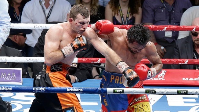 Pacquiao Loses WBO Welterweight Title on Points to Horn
