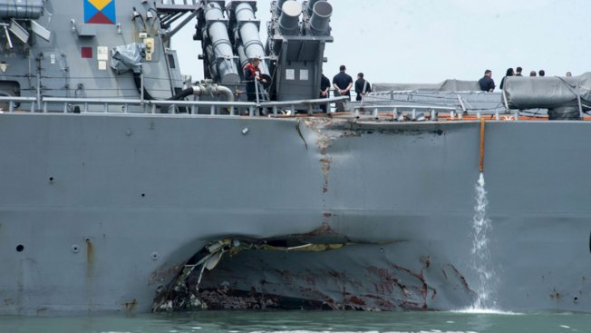 Thursday Burial for Texas Sailor Killed on USS John McCain