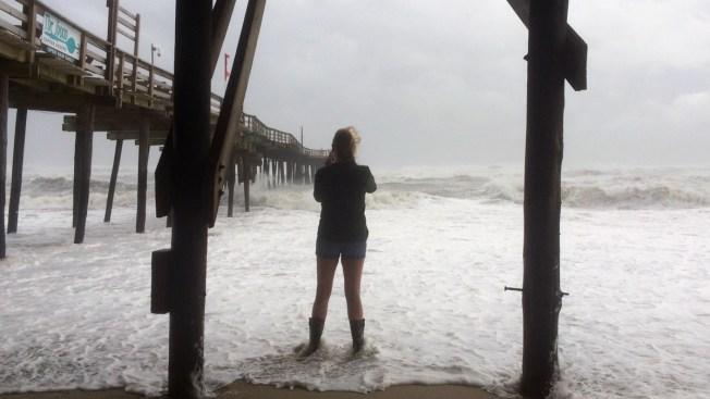 Maria, Again a Hurricane, Swirls Over North Carolina Beaches