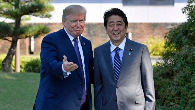 Trump, Abe to Meet Despite Strain Over North Korea, Tariffs