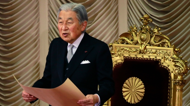 Japan's Emperor Akihito to Abdicate in April 2019