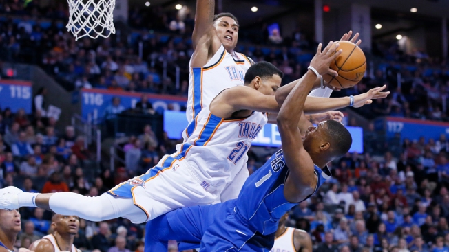 George, Westbrook Lead Thunder Past Mavericks, 112-99