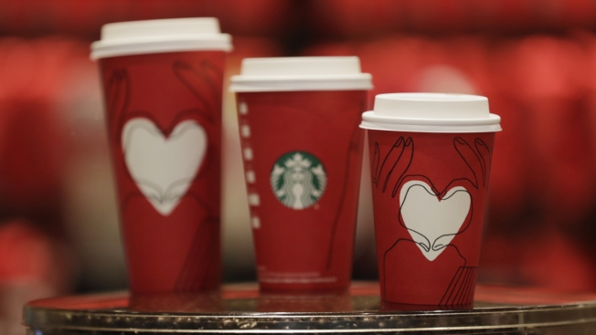 Starbucks Releases Another Holiday Cup — Red This Time
