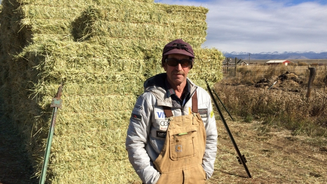 Hay Day: This US Rancher Makes Olympic Downhill's 'Hero Snow'