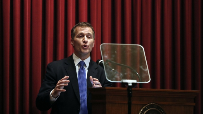 Missouri Governor Admits Having Affair in 2015 But Denies Blackmail