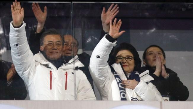 S. Korean President Hosts Lunch for Kim Jong Un's Sister