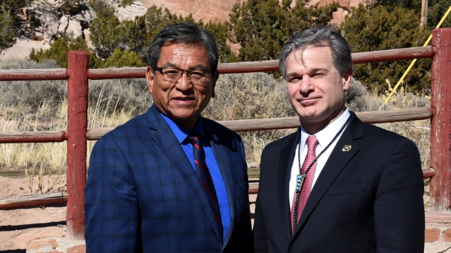 FBI Director Makes Historic Visit to Navajo Nation