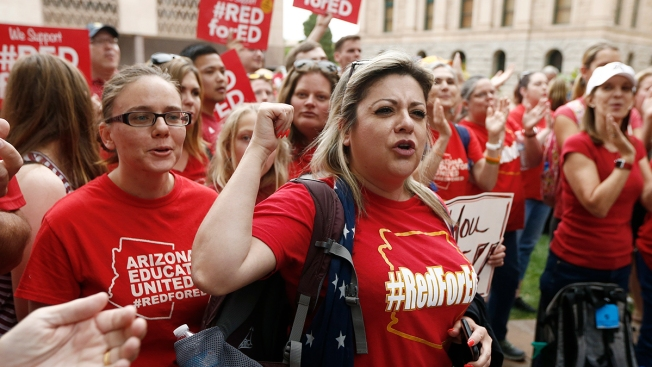 Striking Arizona Teachers End Walkout, Salary Increases Set