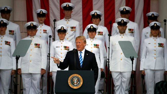Trump Honors 'America's Greatest Heroes' on Memorial Day