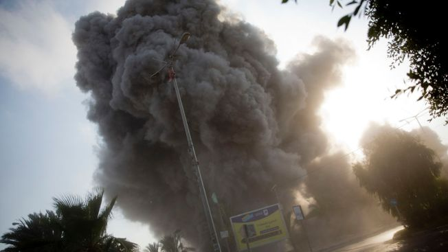 Israel Exchanges Intense Fire With Hamas Militants in Gaza