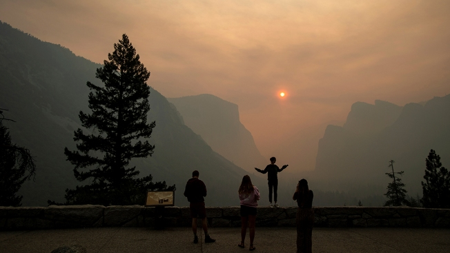 Yosemite Valley to Reopen to Visitors on Tuesday After Being Closed Due to Wildfires