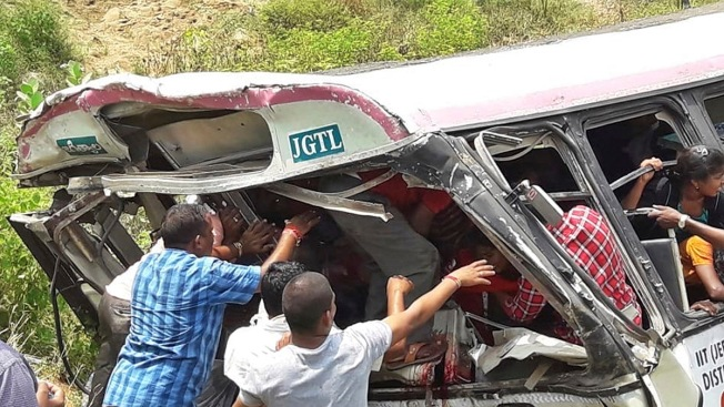 Bus Accident in South India Kills at Least 55 People
