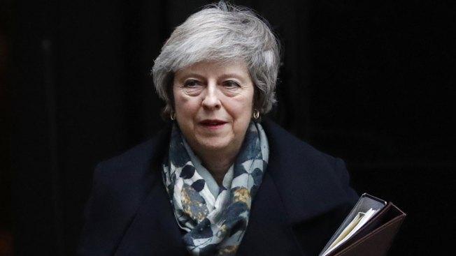 PM Theresa May Says Postponed Brexit Vote to Be Held Week of Jan 14