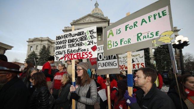Denver Teachers Go on Strike in Latest US Educator Walkout