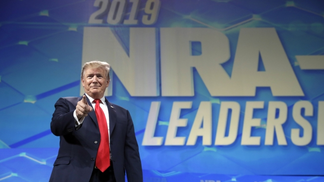 At NRA Convention, Trump Says US Withdrawing From Arms Trade Treaty
