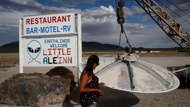 'It's a Frenzy': Communities Near Area 51 Brace for Influx of UFO Tourists