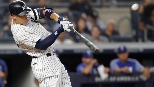 Revived Judge Hits 20th Homer as Yankees Beat Rangers