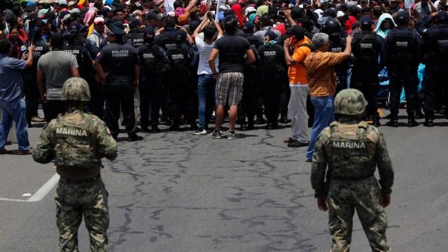 Mexico Declares Success Slowing Migrant Flow as US Border Crossings Decline