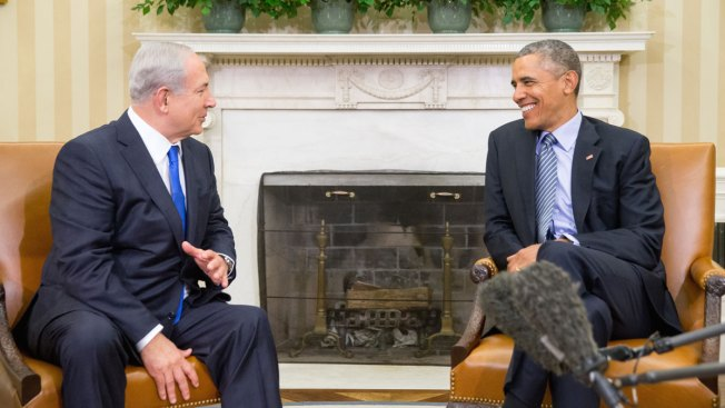 Obama, Netanyahu Emphasize Need for Mideast Peace