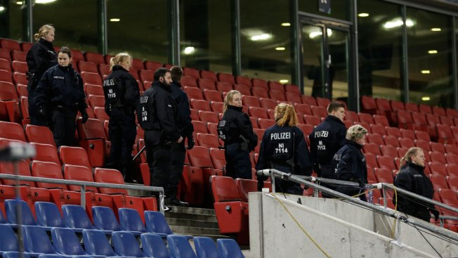 Police: No Bombs Found in German Stadium After Evacuation