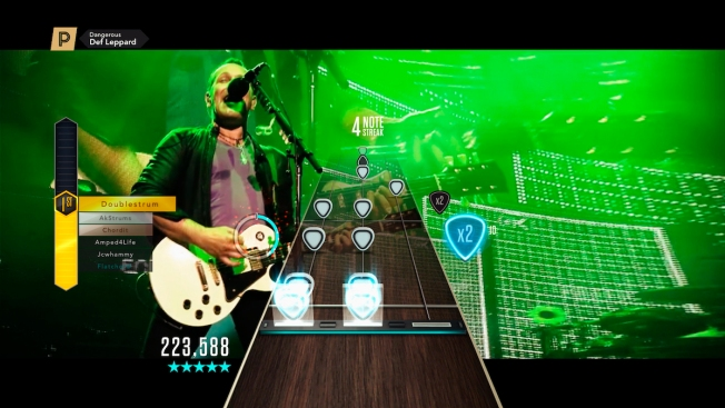 Def Leppard to Debut New Music Video in 'Guitar Hero' Game