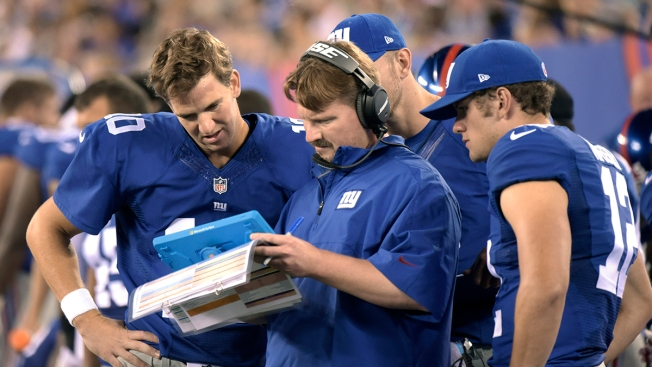 NFC East Watch: McAdoo Expects Even More Out of Manning in '16