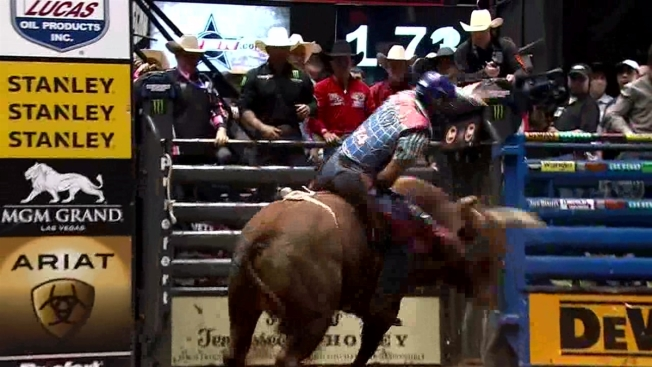 Professional Bull Riders Return to AT&T Stadium