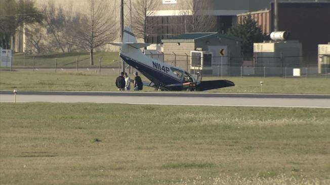Small Aircraft Crashes at Addison Airport; No Injuries