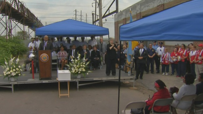 """""""Service of Reflection"""" at Site of Deadly Train Wreck"""