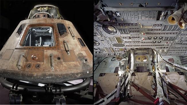 Smithsonian To Launch Apollo 11 Capsule On Us Tour Nbc 5