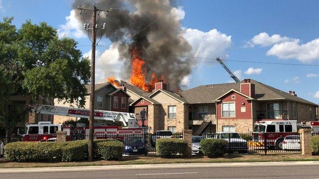 More Than 2 Dozen Displaced After Arlington Apartment Fire