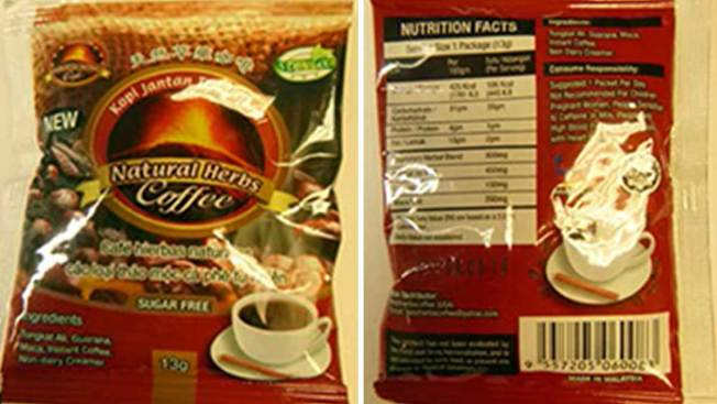 North Texas Coffee Recalled for Containing Viagra-Like Ingredient
