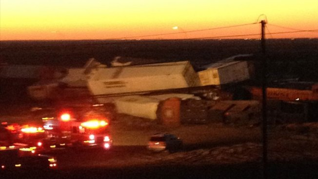 Three Freight Trains Collide in Texas, 4 Crew Hurt