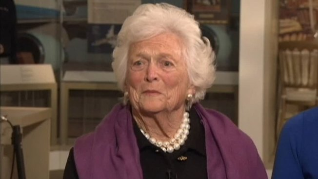First Lady Barbara Bush Discharged From Houston Hospital
