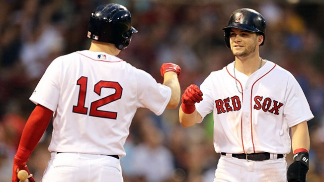 Red Sox Beat Rangers for 8th Straight Win
