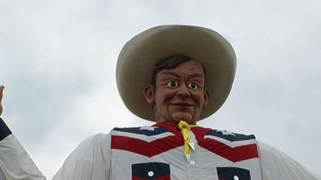 "Big Tex Up for ""Best Quirky Landmark"" in the Country"