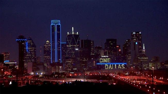 Dallas Skyline To Go Blue for Colon Cancer Awareness