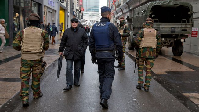 Brussels Maintains Maximum Threat Level for Second Day
