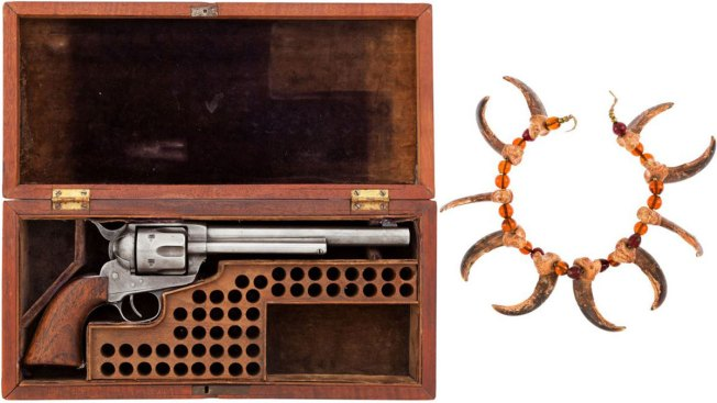 Buffalo Bill's Necklace, Gun Fetch $80,000 at Auction