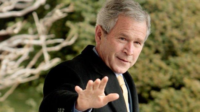 George W. Bush: Hardware Greeter