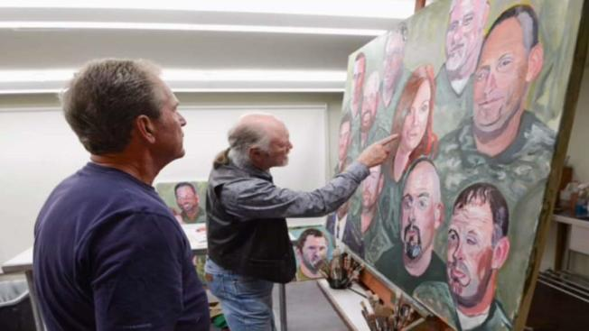 A President S Passion For Painting Nbc 5 Dallas Fort Worth