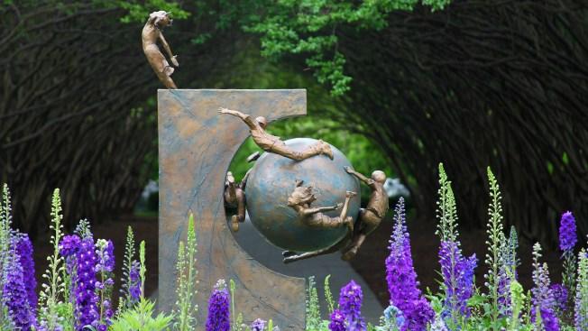 Joy of Childhood on Display at the Dallas Arboretum