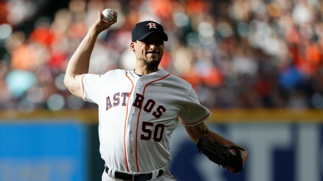 Morton Fans Career-High 14 to Lead Astros Over Rangers