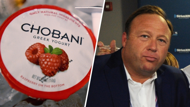 Chobani Yogurt Company Sues Right-Wing Radio Host Alex Jones