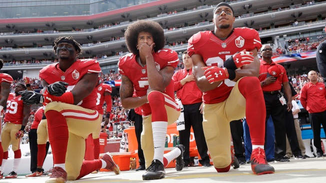 NFL Anthem Protests Evolve Past Kaepernick's Original Intent