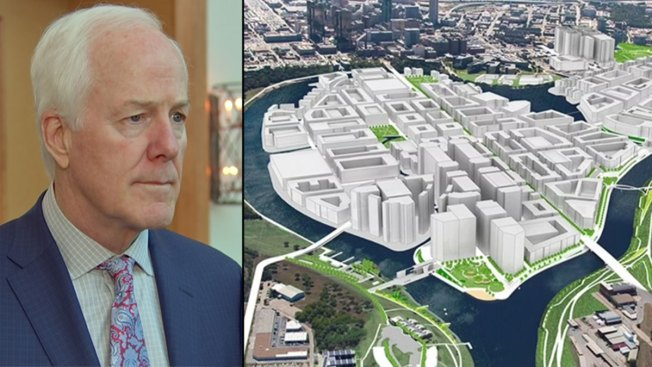 Cornyn: Federal Dollars Likely Won't Come Until Study Done on Fort Worth's Panther Island