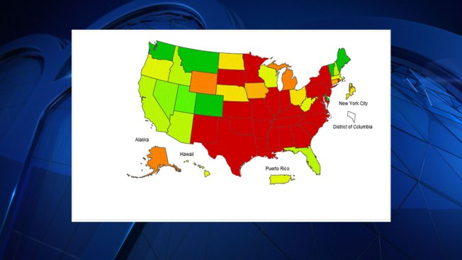 Country-Wide Decrease in Flu Cases, Texas Still in the Red
